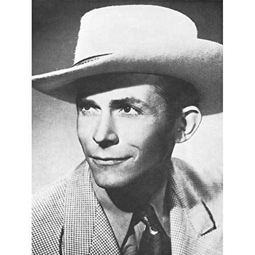 - VINTAGE MUSIC PHOTOGRAPHY PORTRAIT HANK WILLIAMS COUNTRY 18X24'' POSTER ART PRINT LV11289 by Vivo