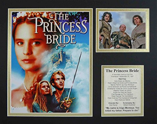 """The Princess Bride 11"""" X 14"""" Unframed Matted Photo Collage B"""