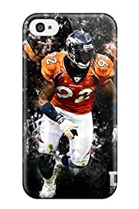 2015 6093358K91774685 Tpu Phone Case With Fashionable Look For Iphone 4/4s - Von Miller
