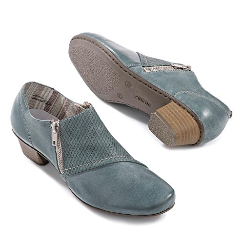 Mujeres Zapatos planos azur/azur/azur azul, (azur/azur/azur) 53861-12 azur/azur/azur