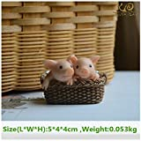 Autumn Water Everyday Collection Cute pig home decoration accessories fairy garden miniature animal figurines car desktop decor birthday gift