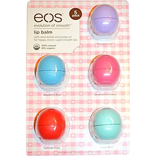 Eos Lip Balm 5 Pack - 7
