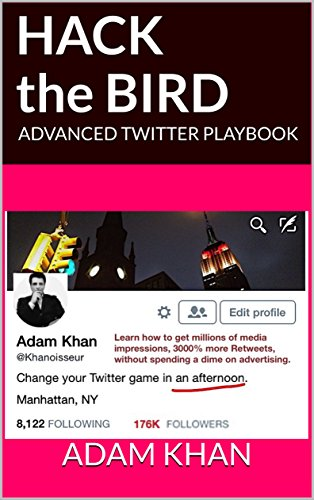 Hack the Bird: ADVANCED TWITTER PLAYBOOK: Counterintuitive Twitter  Strategies and Hacks for Startups, Brands, and Entrepreneurs