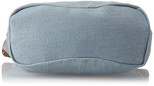 50x33x17 Shopper cm W Mujer XTI Azul para Jeans 85964 H x x L q5XcwHOI