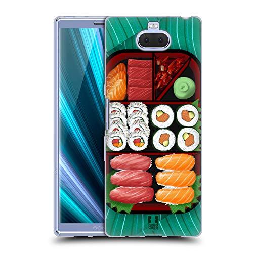 Head Case Designs Sushi Sampler Oriental Food Soft Gel Case for Sony Xperia XA3 Ultra / 10 ()