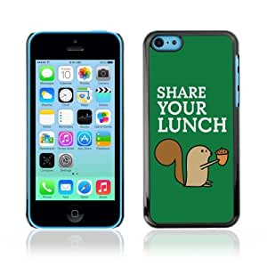 YOYOSHOP [Funny Squirrel Share Your Lunch] Apple iPhone 5C Case