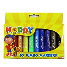Noddy in Toyland Jumbo Colouring Markers, Pack of 10