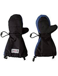 Stonz Mittz The Canada Mittens - Cold Weather Gloves and Big Kid Mittens for Toddlers with 3M Thinsulate - Blue/Black (4-8+ years)