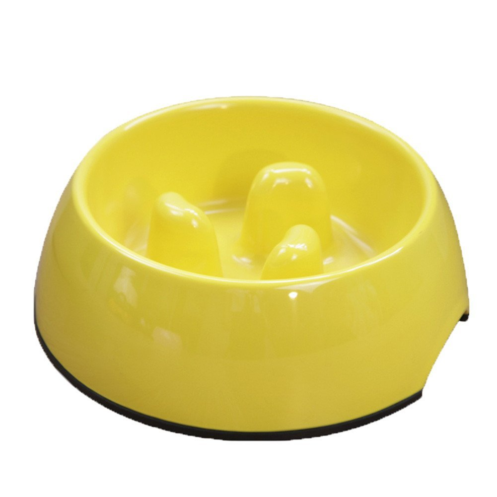 C Pet Dog Slow Food Bowl Anti-Choke Bowl Pet Supplies Large and Small Dogs Lose Weight to Help Digestion Pet Utensils Slow Eating Dog Bowl,C
