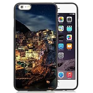 New Beautiful Custom Designed Cover Case For iPhone 6 Plus 5.5 Inch With Manarola Night Phone Case
