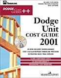 img - for Dodge Unit Cost Guide 2001 (With CD-ROM) book / textbook / text book