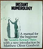 img - for Instant Numerology book / textbook / text book