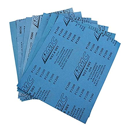 EsportsMJJ 280X230Mm 1000-7000 Grit Papier Sablé Abrasif - 1000#