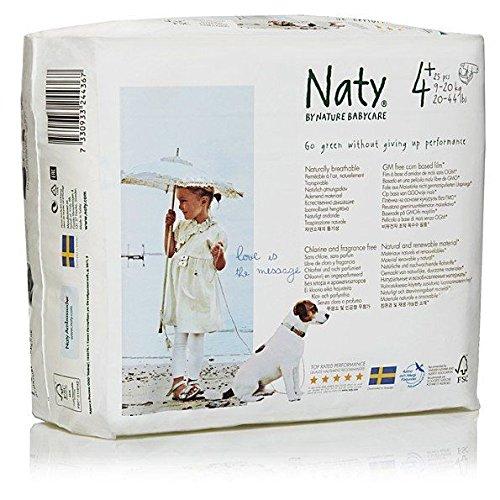 Naty by nature babycare – Pañales – Talla 4 + 25S