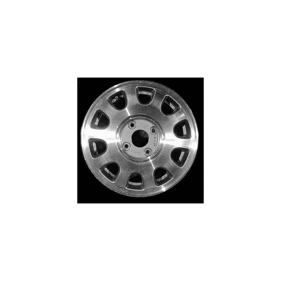 90 93 HONDA ACCORD ALLOY WHEEL RIM 15 INCH, Diameter 15, Width 5.5, Lug 4 (10 SPOKE), SILVER, 1 Piece Only, Remanufactured , (center cap not included) (1990 90 1991 91 1992 92 1993 93) ALY63740U10