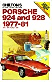 Chilton's Repair and Tune-Up Guide: Porsche 924 and 928, 1977-81 (Chilton's Repair Manual) by Chilton Book Company (1981-12-23)