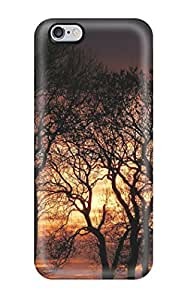 Iphone 6 Plus Hard Back With Bumper Silicone Gel Tpu Case Cover Sunset by lolosakes