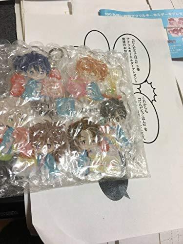 「だんだらごはん」キーホルダー限定100 遊戯王 ワンピース 進撃の巨人 ハイキュー ナルト ボルト AKB48 乃木坂46 SKE48