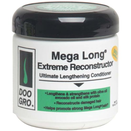 DOO GRO Mega Long Extreme Reconstructor Ultimate Lengthening Conditioner, 16 oz (Mega Intense Repair Thick)