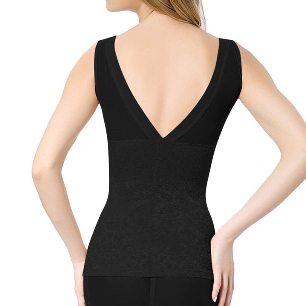 Womens Seamless Slimming Tank Top Shaper,Suma-ma Ladies Butt Lifter Postpartum High-Waist Tummy Control Shapewear