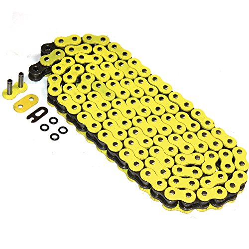 Caltric O-RING YELLOW DRIVE CHAIN Fits APRILIA 450SXV 450 SXV 450-SXV 2006-2010