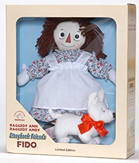 product image for Raggedy Ann with Fido Limited Edition Storybook Friends Doll Set by Applause