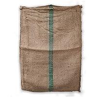 Mokaor - Bolsas de yute de café de 70 x 100 cm, bolsa de tela Yuta para regalos, jardinería, decoración (dibujo…