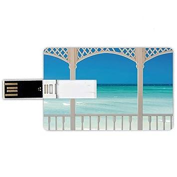 8GB Forma de tarjeta de crédito de unidades flash USB ...