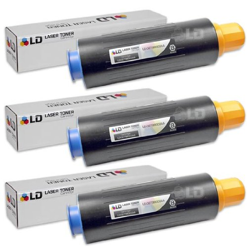 LD Compatible Canon GPR-17 (0279B003AA) Set of 3 Black Laser Toner Cartridges
