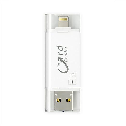 5 opinioni per iPhone Flash Drive, Memoria de cifrado de tocco ID Espandi Adattatore USB 3.0