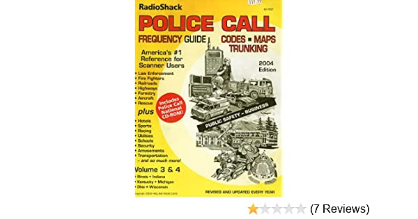 Amazon com: Police Call Frequency Guide (Police Call