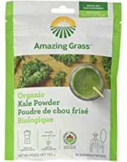 Amazing Grass Organic Smoothie Powder, Kale, 5.29 Ounce