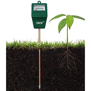 THZY Moisture Meter, hydrometer soil Indoor/Outdoor Moisture Sensor Meter,soil water monitor, Hydrometer for gardening, farming