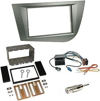 Einbauset Autoradio Doppel 2 Din Blende Radioblende Elektronik