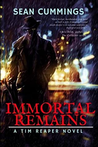 book cover of Immortal Remains