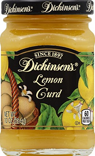 Dickinson's Lemon Curd, 10 ounces (Pack of 6) (Lemon Curd Jars)