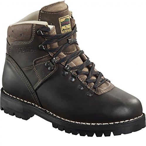 Meindl Ortler, botas de cordones marron oscuro altbraun/nougat Talla:9.5