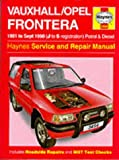 img - for Vauxhall Frontera Service and Repair Manual (Haynes Service and Repair Manuals) book / textbook / text book