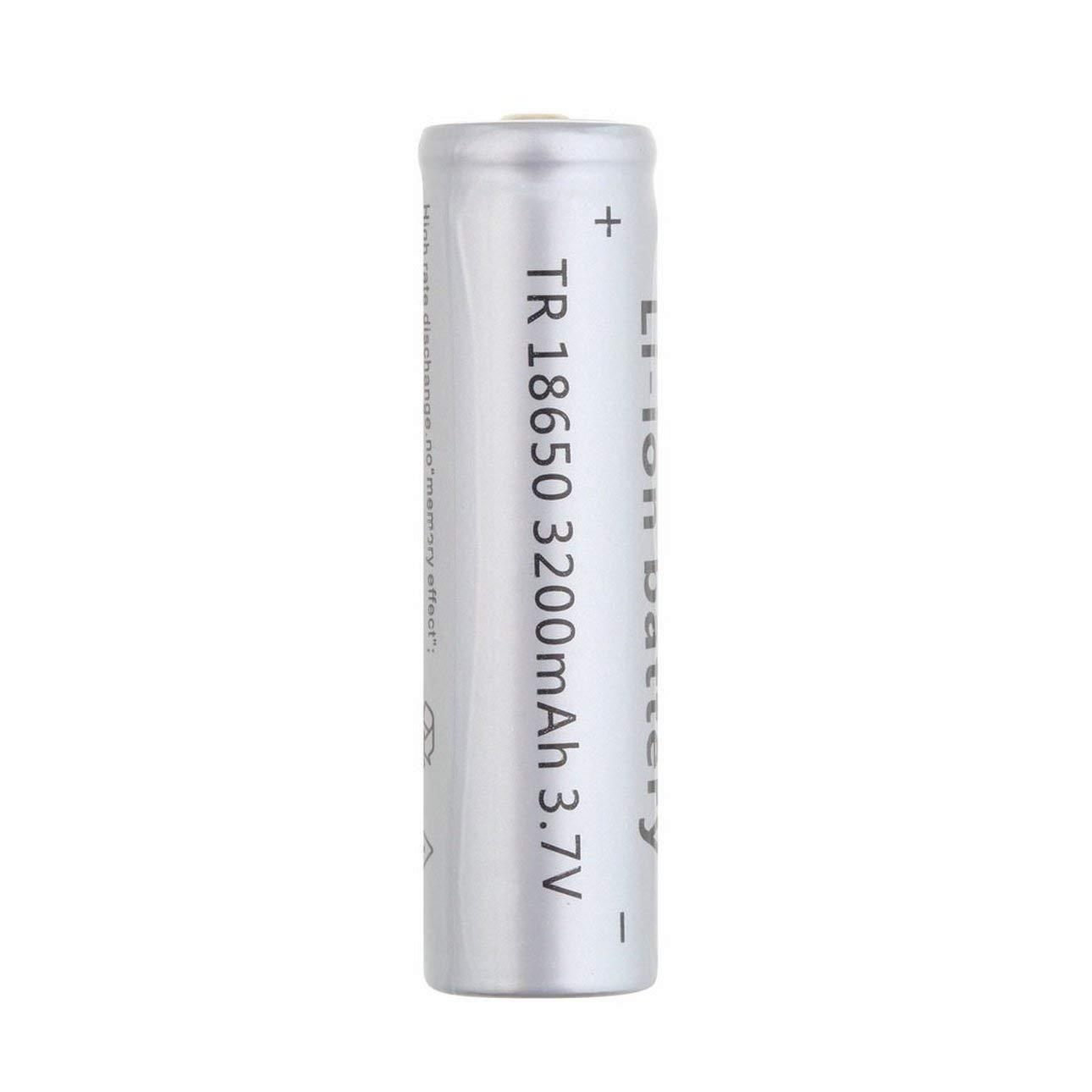 18650 3200mAh 3.7V Batterie Li-ion non proté gé e rechargeable É clairage de secours des appareils portatifs Outil é lectrique de Ballylelly