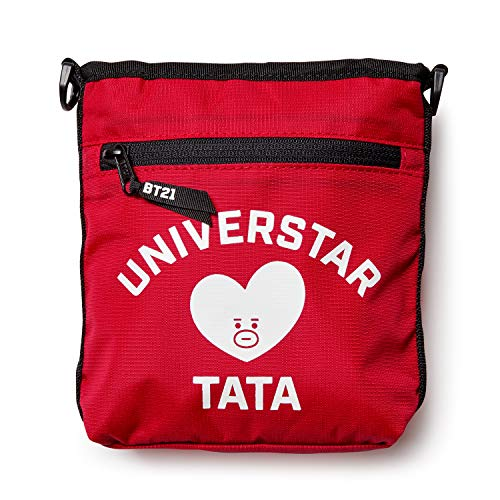 BT21 Official Merchandise by Line Friends - TATA Shoulder Messenger Bag  Sacoche Purse d412f9f73246