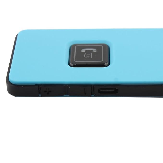 Amazon.com: eDealMax teléfono inteligente de Control remoto del obturador del disparador automático inalámbrica Bluetooth estéreo del auricular Azul: ...