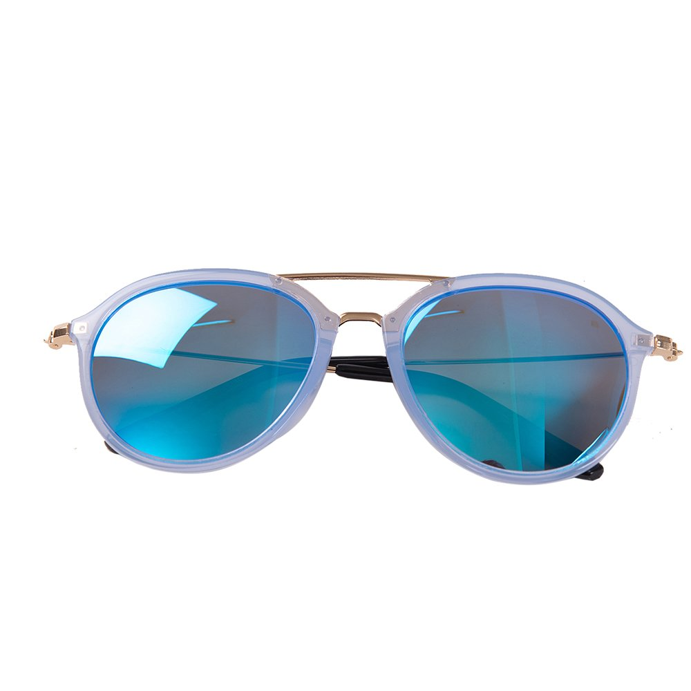 KOCOTREE Kids Sunglasses Baby Boys Glasses Polarized Girl's Sunglasses Personality Protection Against UV Age 4-10(blue)