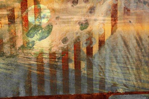 Parvez Taj 60 By 40-Inch Sun Set Canvas Ready to Hang Artwork