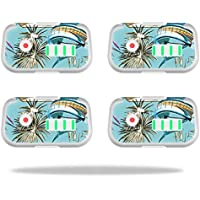 Skin For DJI Phantom 3 Drone Battery (4 pack) – Island Fish | MightySkins Protective, Durable, and Unique Vinyl Decal wrap cover | Easy To Apply, Remove, and Change Styles | Made in the USA