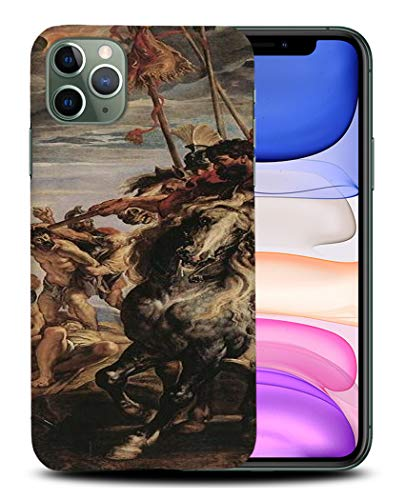 Foxercases Designs #1 - Peter Paul Rubens - Elevation of The Cross III Art Painting Sketch Hard Case Cover for Apple iPhone 11 Pro Max