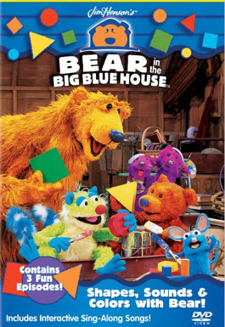 Bear in the Big Blue House - Shapes, Sounds & Colors with - Mooney In Shape