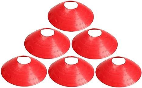 LIOOBO 40 Piezas Agility Drill Training Field Marker Sports Disc ...