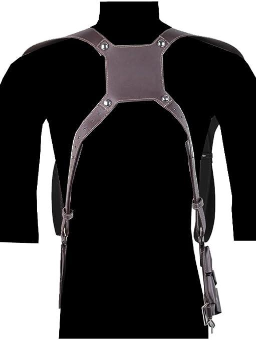 Uncharted 4 pistolera de hombro ajustable Nathan Drake disfraz Thief s End Cinturón: Amazon.es: Ropa y accesorios