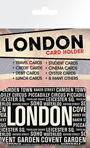 Londres 10 Areas Tarjeteros Tarjetas Para X Crédito 7cm De SnTSrqwZx