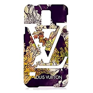 Classic Series Louis with Vuitton Theme 3D Hard Plastic Case Cover For Samsung Galaxy S5